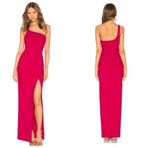 NWT Revolve LIKELY Camden Persian Red Gown Dress